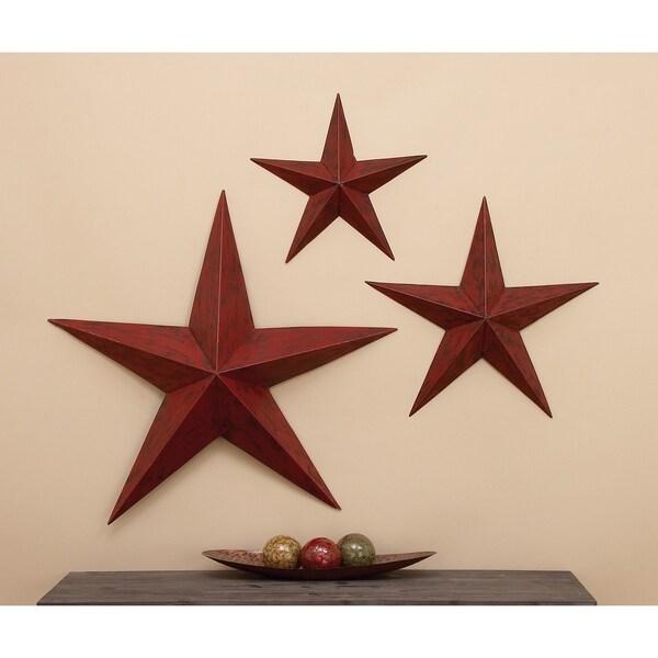 Metal Star (Set of 3)