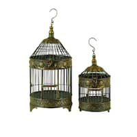 Maison Rouge Lamartine Metal Bird Cage (Set of 2)