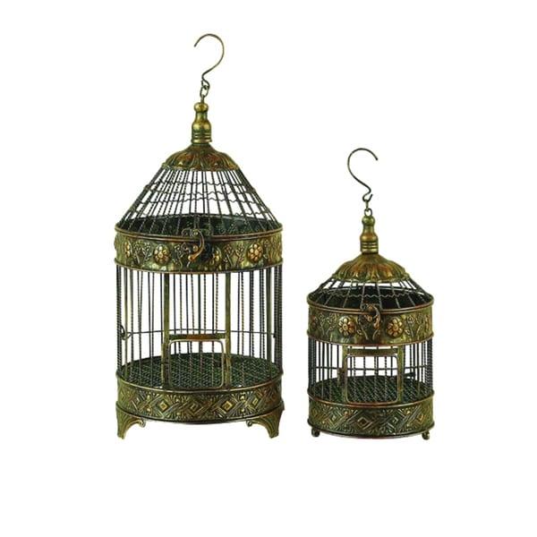 Maison Rouge Lamartine Metal Bird Cage (Set of 2)