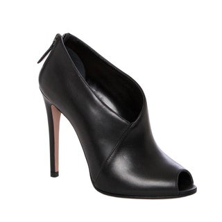 Prada Asymmetric Peep-toe Booties