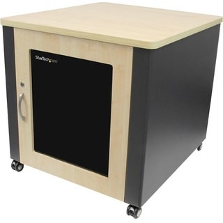StarTech.com Soundproof Server Rack with Casters - Acoustic Cabinet f