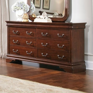 Cherry Louis Philippe 8-drawer Dresser