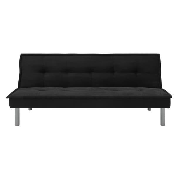 Dhp Microfiber Folding Futon Sofa Bed