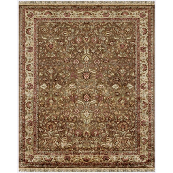 Shop Grand Bazaar Tufted Wool Pile Alegra Rug In Light