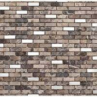 Martini Mosaic Muro Roman Stone (Set of 6)