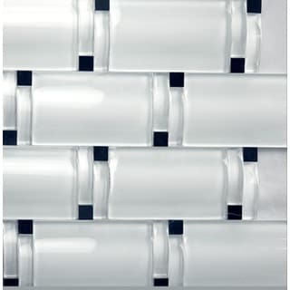 Martini Mosaic Crystal Ice Maree Tile (Set of 5)