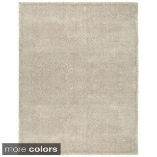 Grand Bazaar Hand Woven Wool & Polyester Dimensions Rug in Beige 5' x 8'