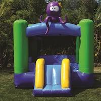 JumpOrange Kiddo Octopus Jump 'N' Slide Fun House