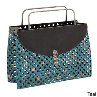 Casa Cortes Purse Style Metal Magazine Holder (2 options available)