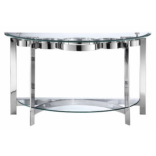 Mercury Demilune Sofa Table