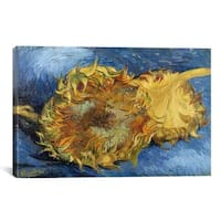 iCanvas Sunflowers  by Vincent van Gogh Canvas Print Wall Art