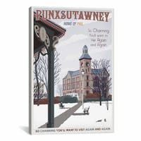 iCanvas ART  Punxsutawney Canvas Print Wall Art
