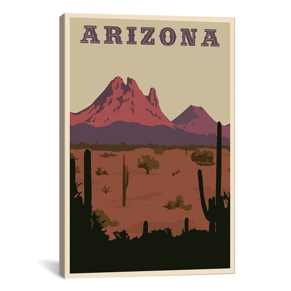 iCanvas ART Arizona Canvas Print Wall Art