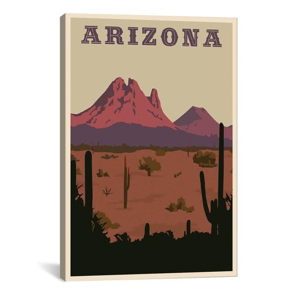iCanvas ART Arizona Canvas Print Wall Art