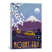 iCanvas ART  Mt Fuji Canvas Print Wall Art