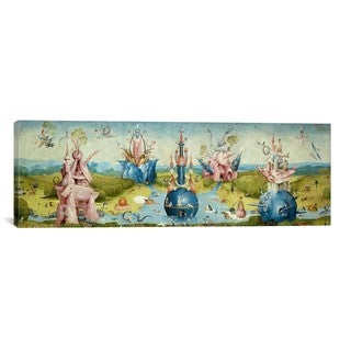 iCanvas ART Hieronymus Bosch Top of Central Panel from The Garden of Earthly Delights II Canvas Print Wall Art