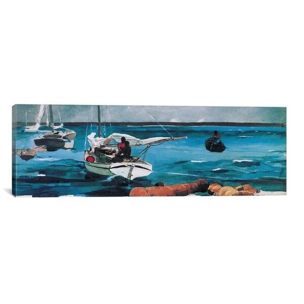 iCanvas ART Winslow Homer Nassau Canvas Print Wall Art