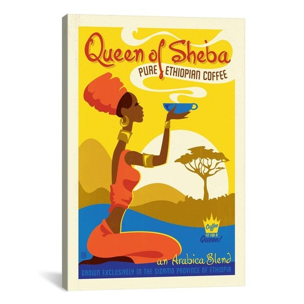 iCanvas ART Anderson Design Group Queen of Sheeba Canvas Print Wall Art