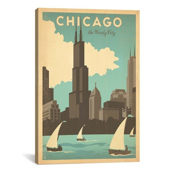 Real Art Design Group Chicago : Icanvas art anderson design group the windy city