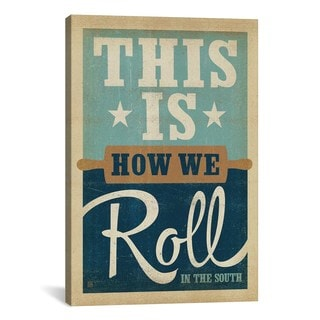iCanvas ART Anderson Design Group South Carolina Series: How We Roll Canvas Print Wall Art