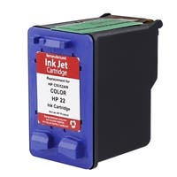 Insten Color Remanufactured Ink Cartridge Replacement for HP C9352A/ 22