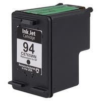 Insten Black Remanufactured Ink Cartridge Replacement for HP C8765W/ 94
