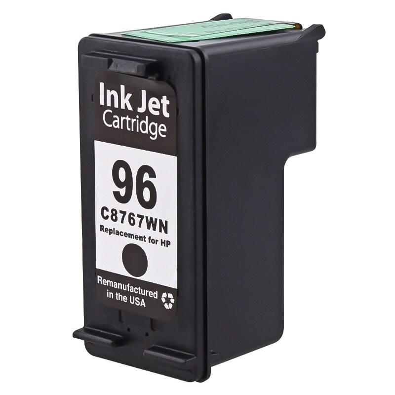 BasAcc Black Remanufactured C8767W No.96 Ink Cartridge fo...