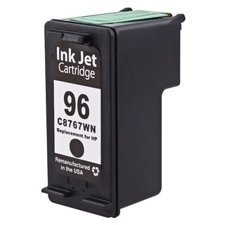 INSTEN Black Remanufactured C8767W No.96 Ink Cartridge for HP Deskjet/ OfficeJet