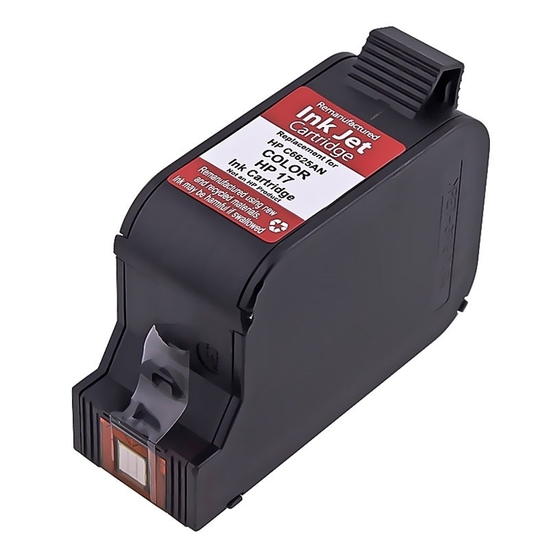 BasAcc Remanufactured C6625 No.17 Color Ink Cartridge for...