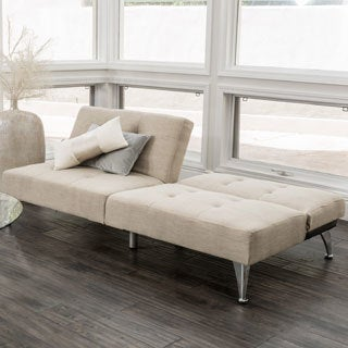 alston click clack oversized convertible 2 piece sofa by christopher knight home futons for less   overstock    rh   overstock