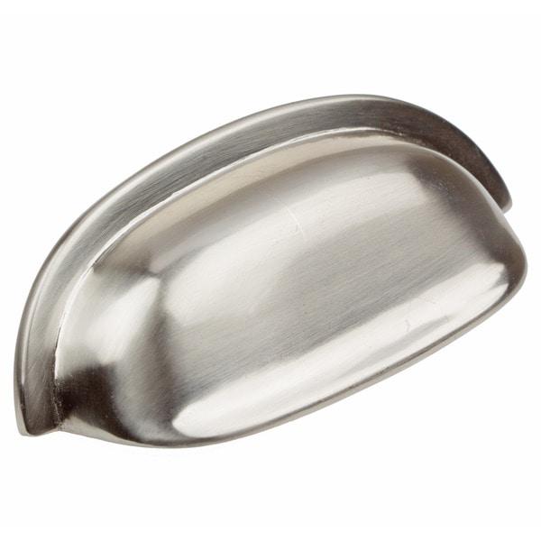 Shop GlideRite 2.5-inch Satin Nickel Classic Bin Cabinet