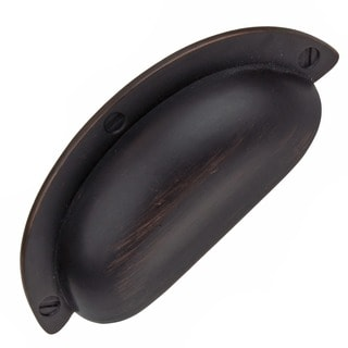 GlideRite 2.5 inch Oil Rubbed Bronze Cabinet Bin Pulls (Pack of 10)