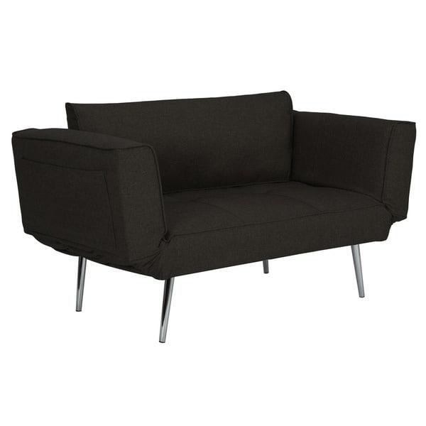 novogratz euro futon with magazine storage free shipping today
