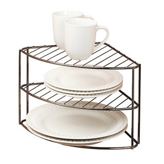 Kitchen Details 3-tier Corner Rack