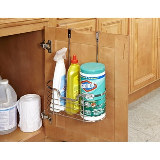 Medium Chrome Over the Cabinet Organizer