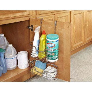 2-Tier Chrome Over the Cabinet Organizer