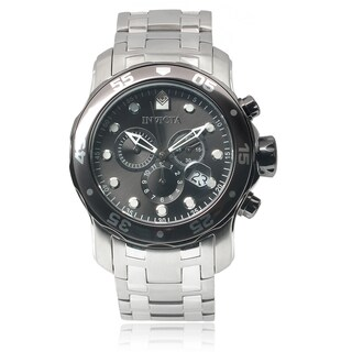 Invicta Men's 17083 Stainless Steel 'Pro Diver' Chronograph Watch