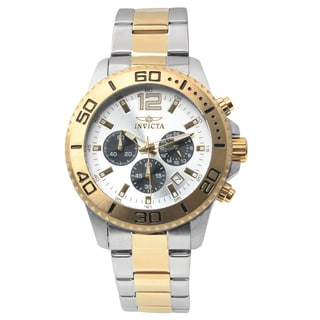Invicta Men's 17399 Stainless Steel 'Pro Diver' Quartz Chronograph Watch