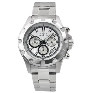 Invicta Men's 15602 Stainless Steel 'Specialty' Quartz Chronograph Watch