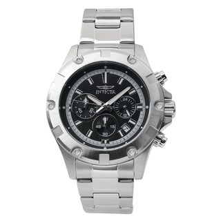 Invicta Men's 15601 Stainless Steel 'Specialty' Quartz Chronograph Watch
