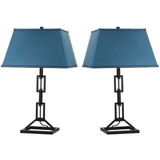 Thom Filicia Lighting 30.5-inch Midnight Black Jamesville Table Lamp (Set of 2)
