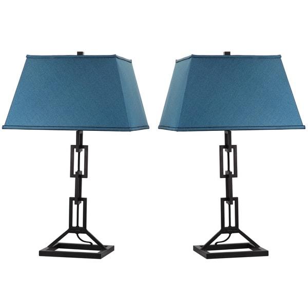 Thom Filicia Lighting 30.5-inch Midnight Black Jamesville Table Lamp (Set of 2)