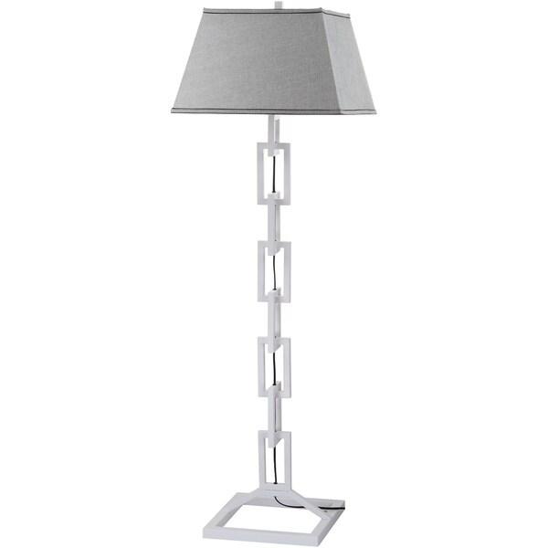 Thom Filicia Lighting 65-inch Winter White Jamesville Floor Lamp