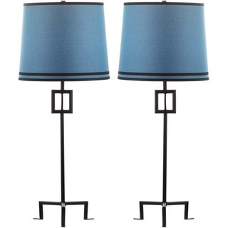 Thom Filicia Lighting 36-inch Midnight Black Hanover Table Lamp (Set of 2)