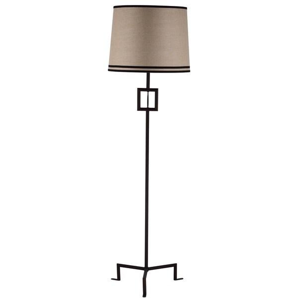 Thom Filicia Lighting 63-inch Blacksmith Bronze Hanover Floor Lamp