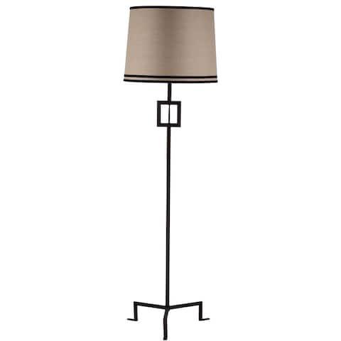 Safavieh Lighting 63-inch Blacksmith Bronze Hanover Floor Lamp