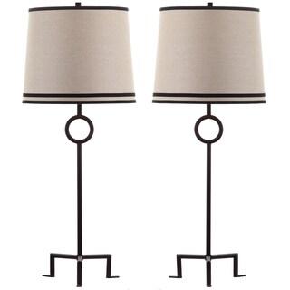Thom Filicia Lighting 36-inch Blacksmith Bronze Shotwell Table Lamp (Set of 2)