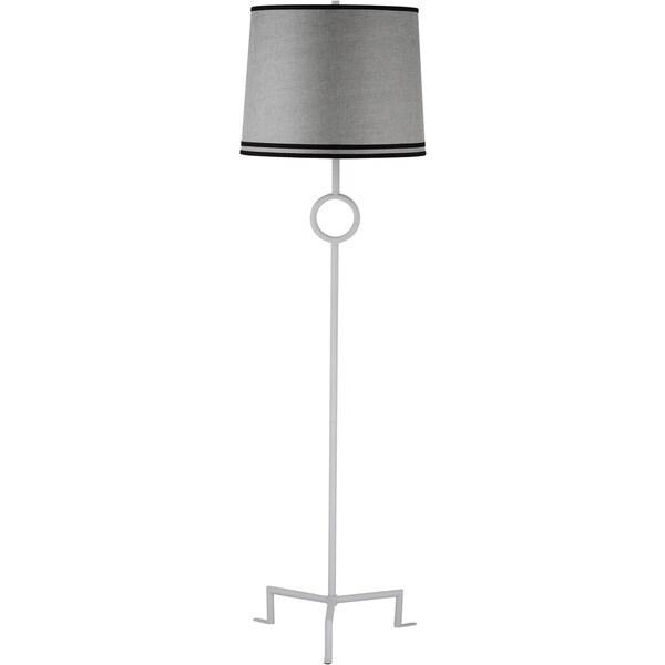 Thom Filicia Lighting 63-inch Winter White Shotwell Floor Lamp