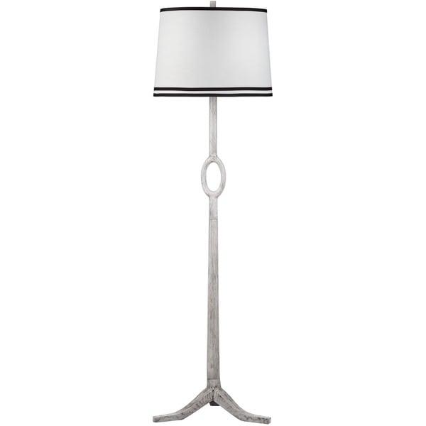 Thom Filicia Lighting 64-inch Driftwood White Packwood Floor Lamp