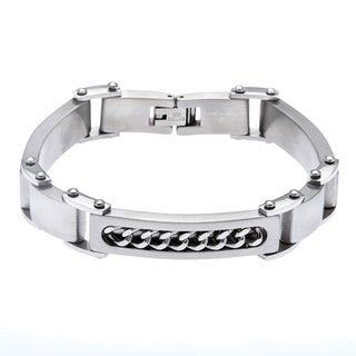 Stainless Steel Chain Detail Bracelet